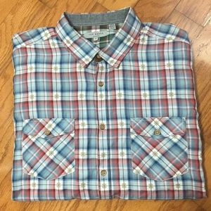 Ted Baker Long Sleeve Button Down Shirt Size 5 XL
